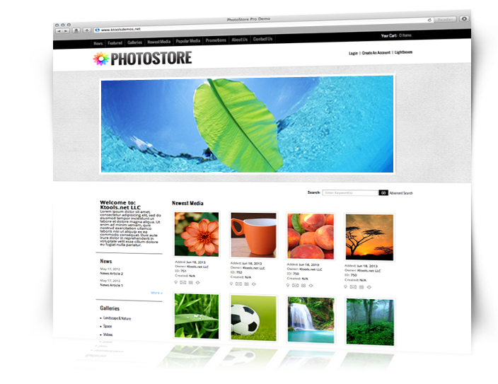 PhotoStore 4 Screenshot